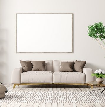 Modern apartment with Italian sofas in Sydney