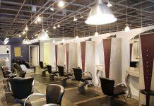 Fashionable hair salon near me